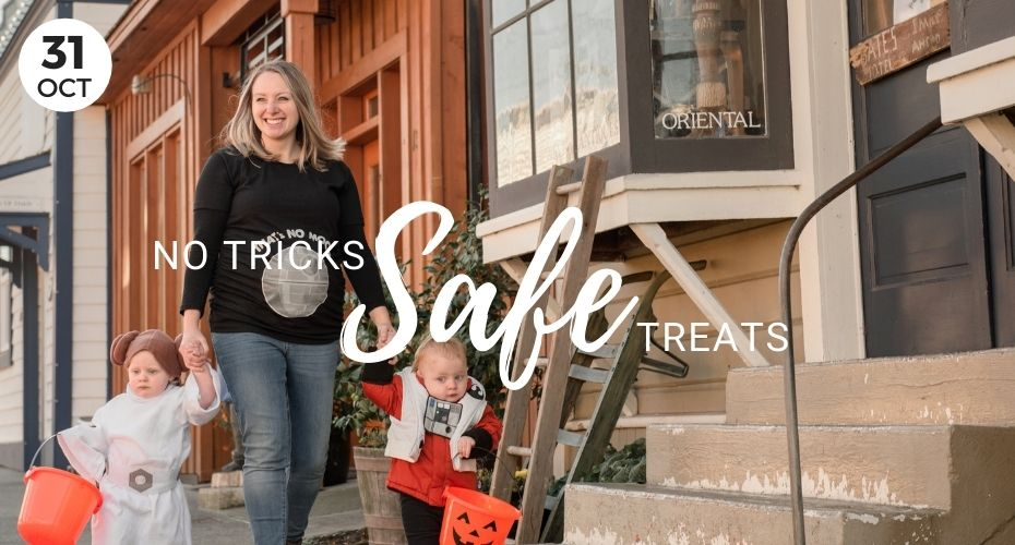 No Tricks Safe Treats, Windermere, Real Estate, Whidbey Island, Oak Harbor, Washington, Halloween, Things to Do with kids, Trick or treat