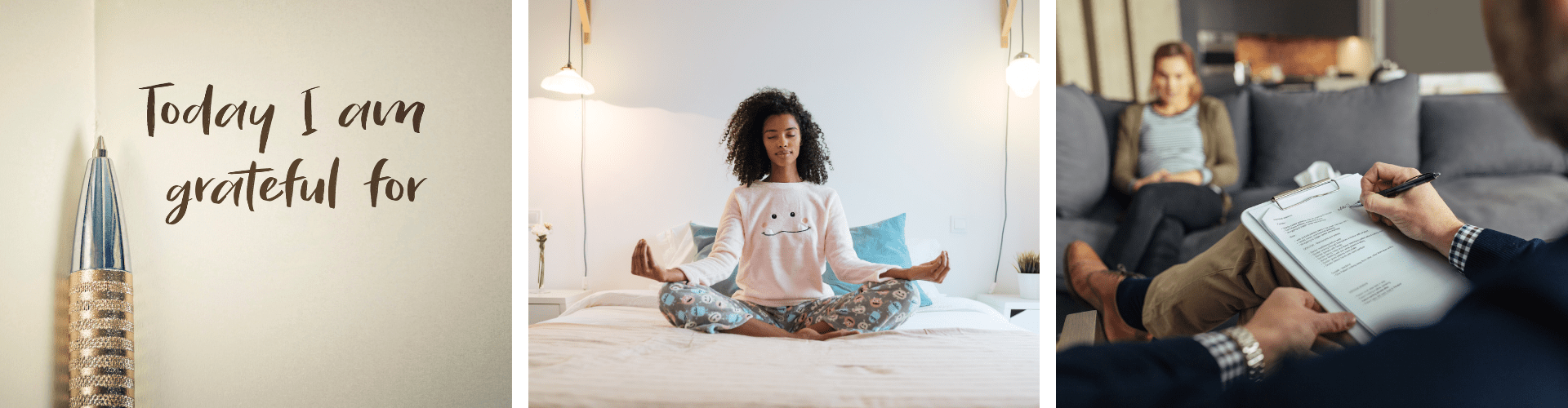 incorporate health & Fitness into your home, meditation and gratitude