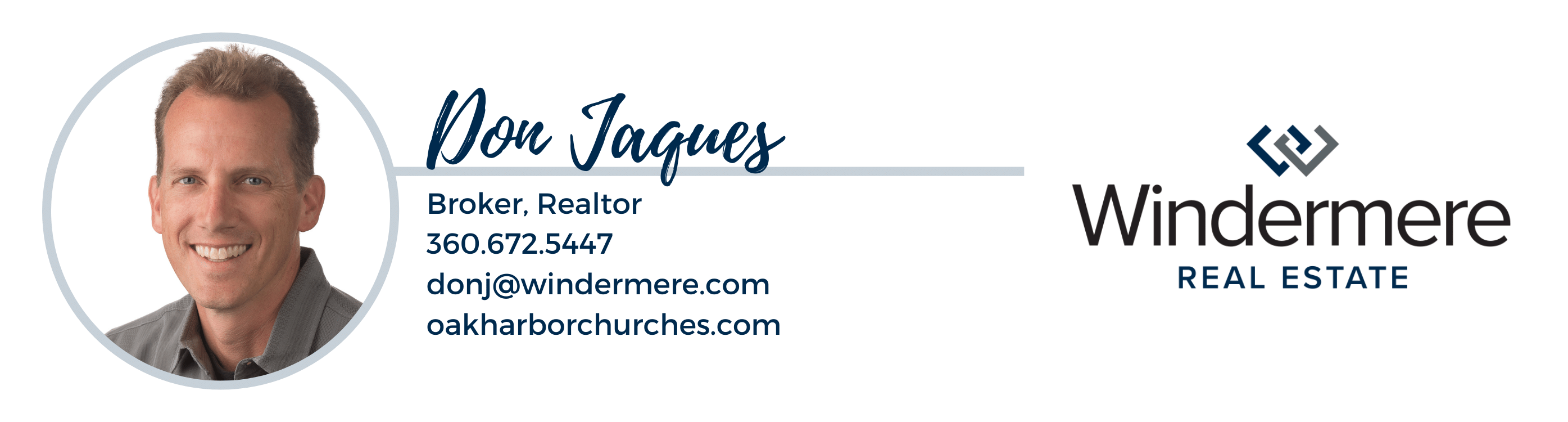 Don Jaques, Oak Harbor Churches Guide